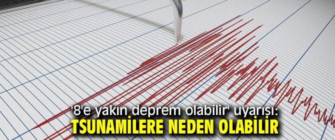 """Selim İnan, """"8'e yakın deprem olabilir"""""""