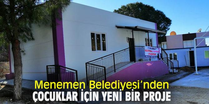 Menemen Belediyesi, Doğaköy Anaokulu'nu açıyor!