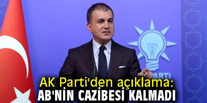 AK Parti sözcüsü Çelik'ten flaş AB açıklaması!
