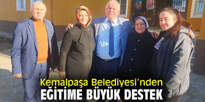 Kemalpaşa'da okullara bakım yapıldı!