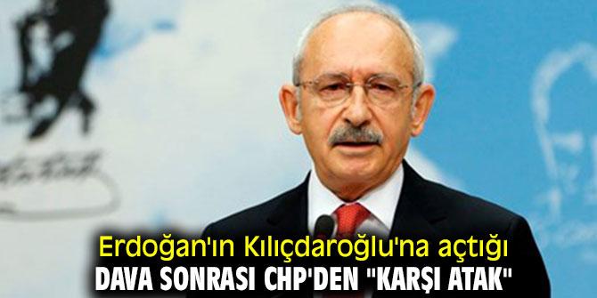 """Erdoğan'ın Kılıçdaroğlu'na açtığı dava sonrası CHP'den """"karşı atak"""""""