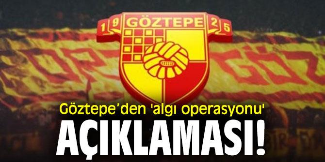 "Göztepe Başkan Vekili Talat Papatya,""Saygı duyulsun"""
