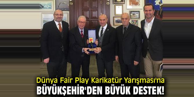 Dünya Fair Play Karikatür Yarışması'na Büyükşehir'den büyük destek...