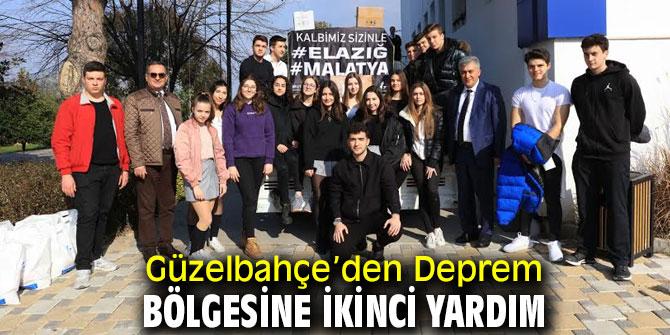 Güzelbahçe'den Elazığ'a ikinci destek!