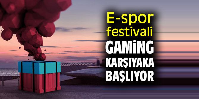 E-spor festivali Gaming Karşıyaka'ya davet