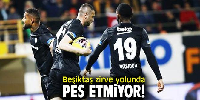 Beşiktaş zirve yolunda ilerliyor!