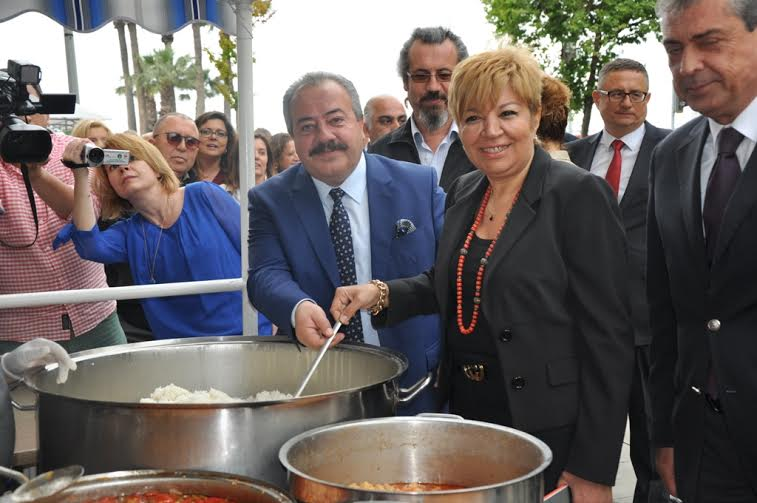 İzmir Ticaret Borsası'ndan Pilav ve Kuru Fasulye Ziyafeti