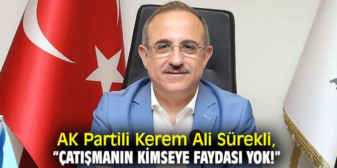AK Partili Kerem Ali Sürekli'den salgın açıklaması