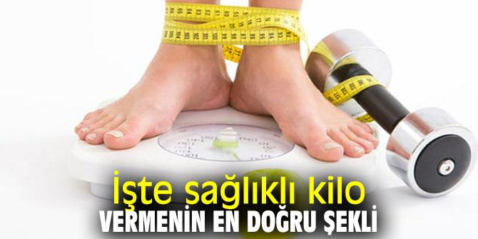 Sağlıklı kilo vermek istiyorsanız dikkat!