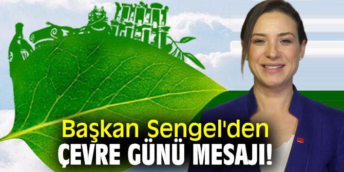 Başkan Sengel'den Çevre Günü mesajı!