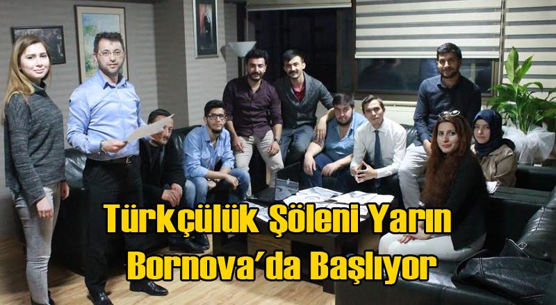 Türkçülük Şöleni Yarın Bornova'da Başlıyor