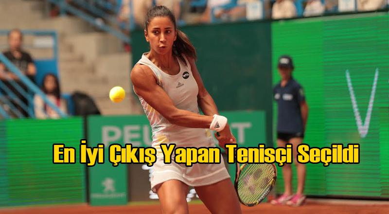 WTA Çağla Büyükakçay'ı En İyi Çıkış Yapan Sporcu Seçti