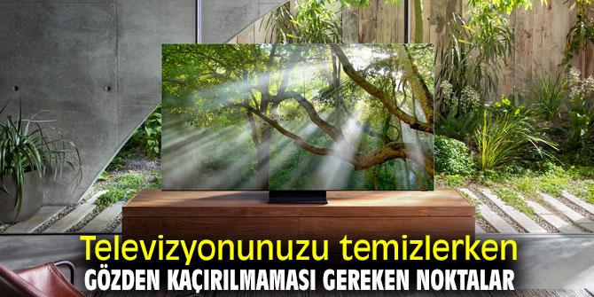 Dikkat, televizyonunuzu bu yöntemlerle temizleyin!