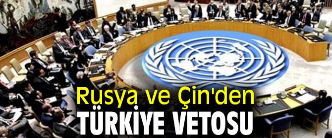 Rusya ve Çin'den insani yardımlara veto!