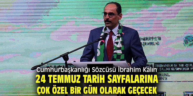 Cumhurbaşkanlığı Sözcüsü İbrahim Kalın'dan flaş açıklama!