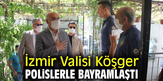 Vali Köşger, polislerle bayramlaştı!