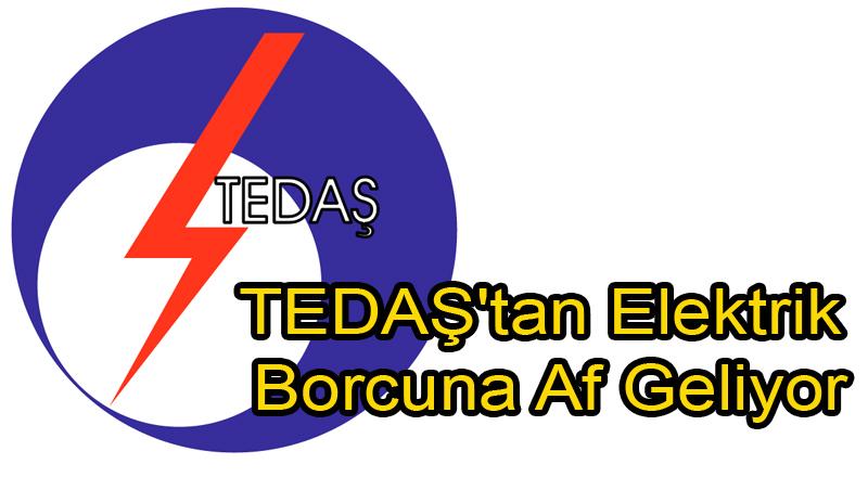TEDAŞ'tan Elektrik Borcuna Af Geliyor