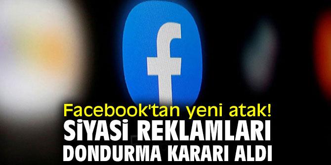 Facebook siyasi reklamlar için önlem alıyor