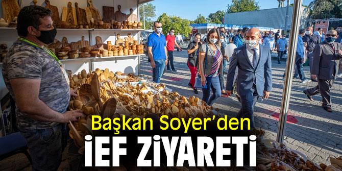 Başkan Soyer'den İzmir Enternasyonal Fuarı'na ziyaret