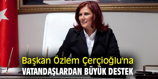 Başkan Özlem Çerçioğlu'na destek!