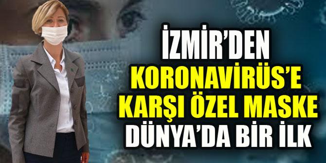 İzmir'de koronaya karşı mentollü maske