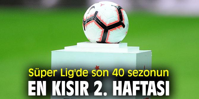 Süper Lig'in ikinci haftasında  17 gol atıldı