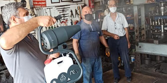 İzmir Oto Tamircileri Odası, Sanayi Sitelerini dezenfekte etti!