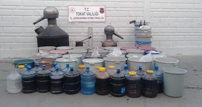 2 bin 580 litre sahte alkol ele geçirildi