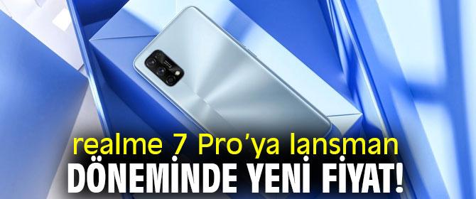 realme 7 Pro'ya yeni fiyat!