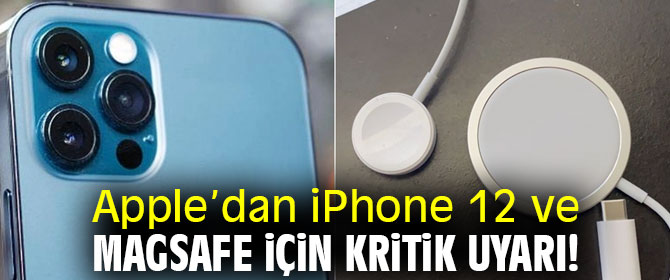 Apple MagSafe isimli güç adaptörü için uyardı: İz tehlikesi!