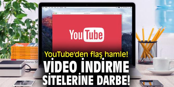 YouTube'den flaş hamle! Video indirme sitelerine darbe!