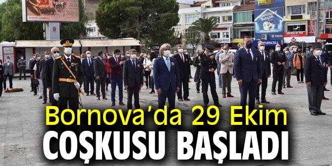 Bornova'da 29 Ekim coşkusu başladı