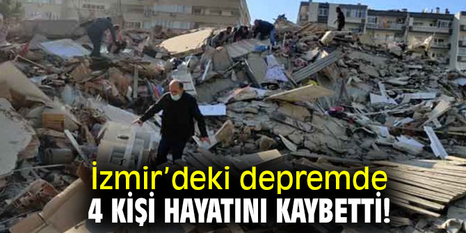 Bakan Koca açıkladı! Depremde 4 kişi hayatını kaybetti!