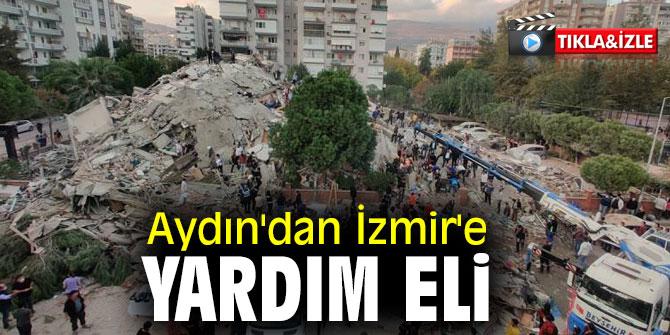Aydın'dan İzmir'e yardım eli!