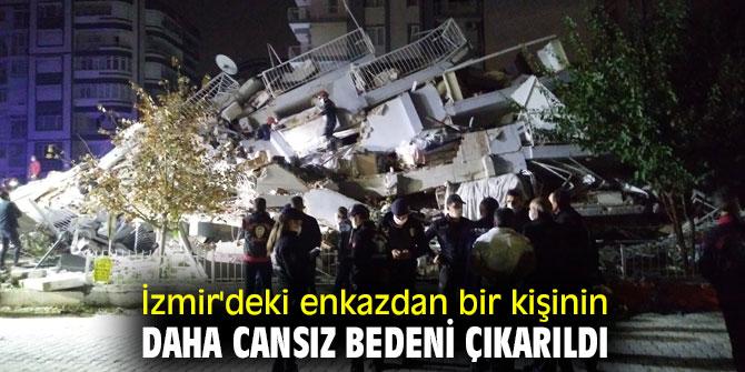 İzmir'de arama kurtarma çalışmaları sürüyor! Enkazdan bir kişinin daha cansız bedeni çıkarıldı