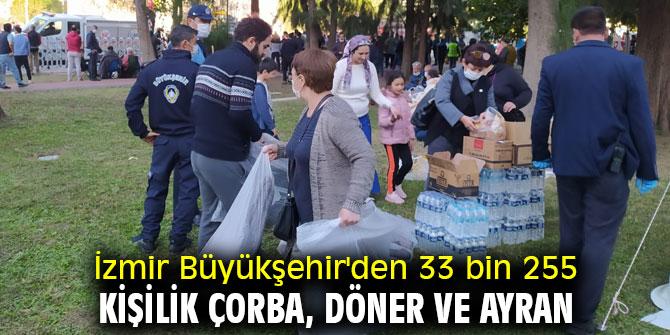 İzmir Büyükşehir'den yemek yardımı