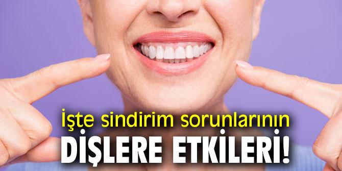 İşte sindirim sorunlarının dişlere etkileri!