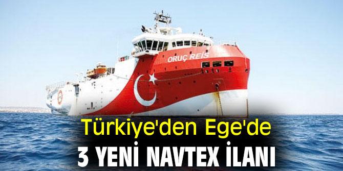 Türkiye'den flaş  Navtex ilanı