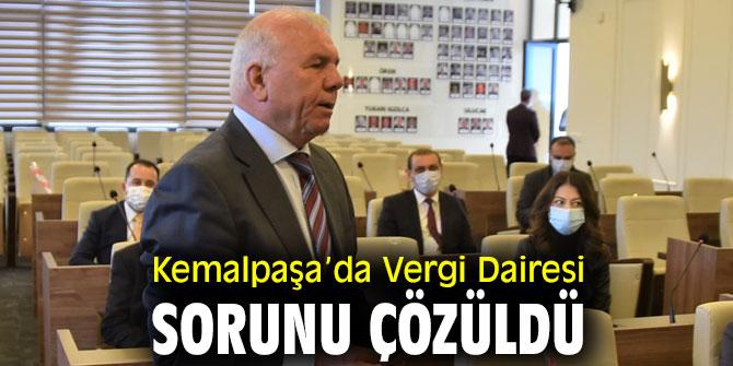 Kemalpaşa'da Vergi Dairesi Sorunu Çözüldü