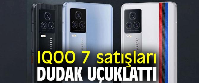 IQOO 7, 30 milyon adetten fazla sattı