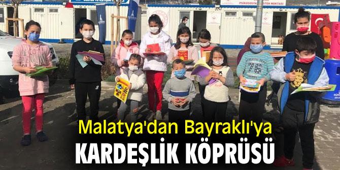Malatya'dan Bayraklı'ya çocuk dayanışması!
