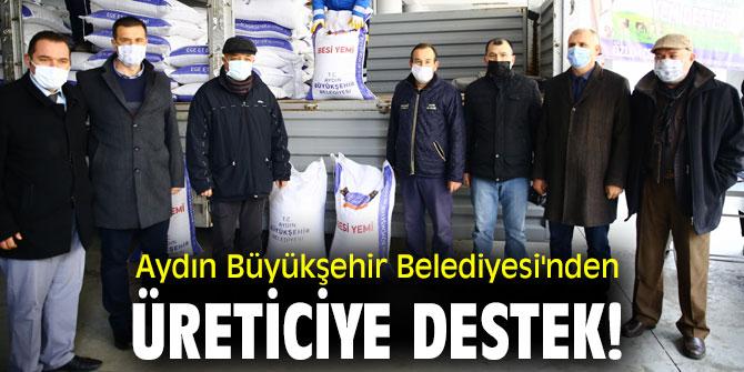 Aydın Büyükşehir Belediyesi'nden üreticiye destek!