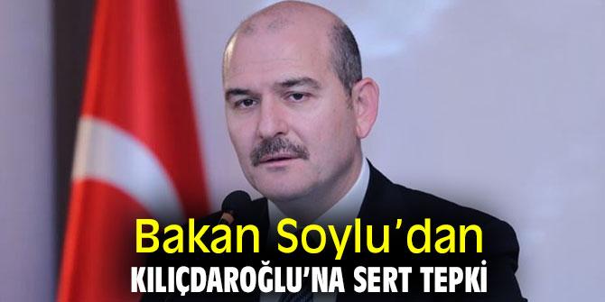 Bakan Soylu'dan CHP lideri Kılıçdaroğlu'na sert tepki
