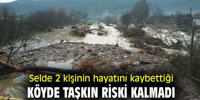 İzmir'deki selde 2 kişinin hayatını kaybettiği köyde taşkın riski kalmadı