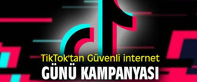 TikTok'tan Güvenli internet Günü kampanyası