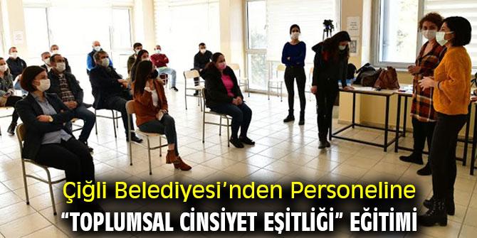 """Çiğli'de """"Toplumsal Cinsiyet Eşitliği"""" Eğitimi"""
