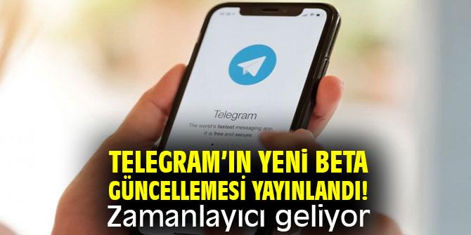 Telegram'ın yeni beta güncellemesi yayınlandı! Zamanlayıcı geliyor