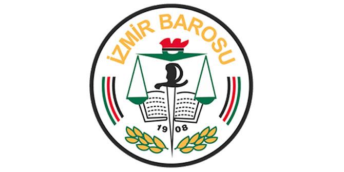 İzmir Barosu'ndan 8 Mart mesajı!