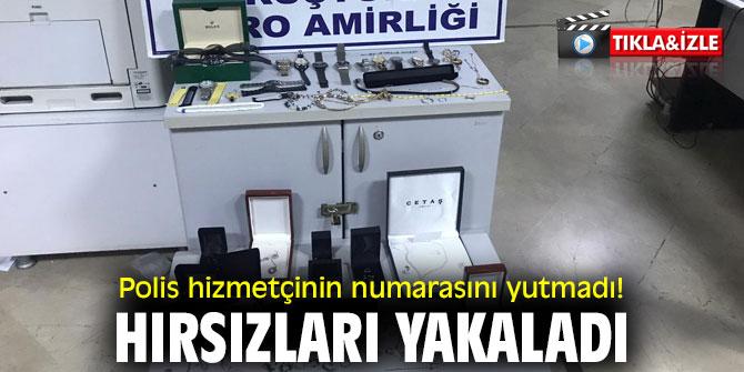İzmir polisi hizmetçinin numarasını yutmadı!
