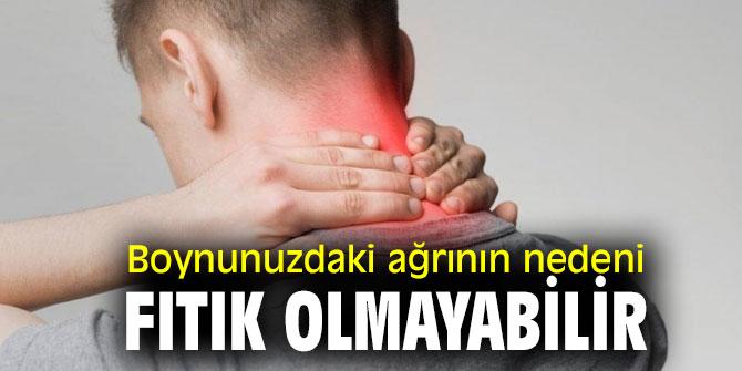 Uzmanı açıkladı! Boynunuzdaki ağrının nedeni fıtık olmayabilir